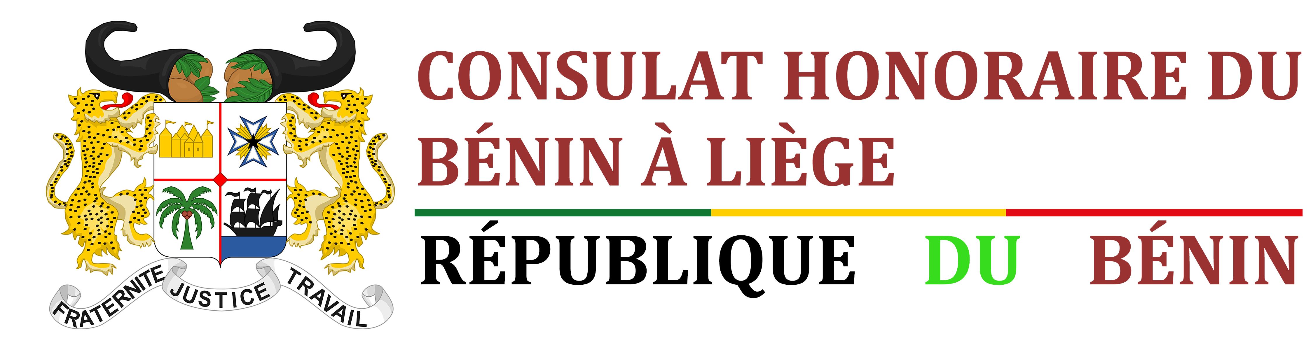 logo consulat benin liege